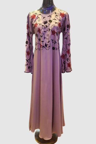 Beautiful Embroidery Abaya