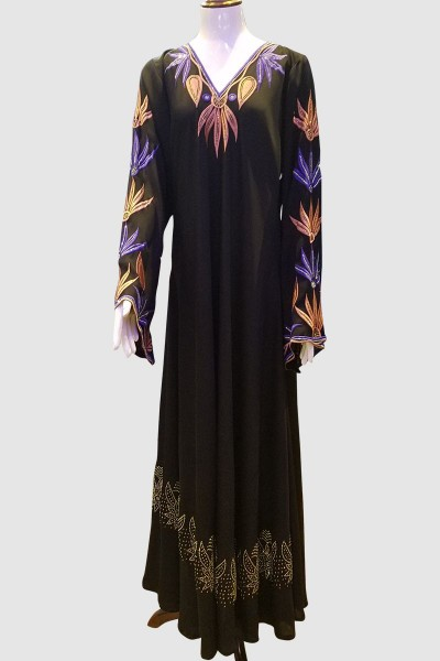Embroidery Designer Abaya