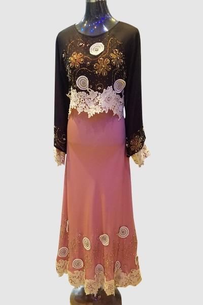 Classic Designer Umbrella Abaya