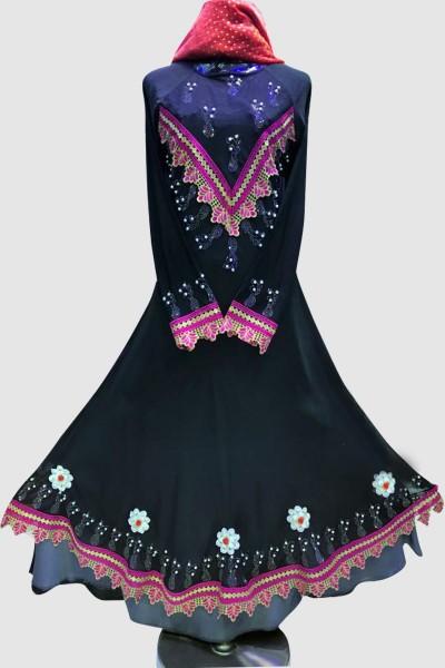 Modest Fancy Umbrella Abaya
