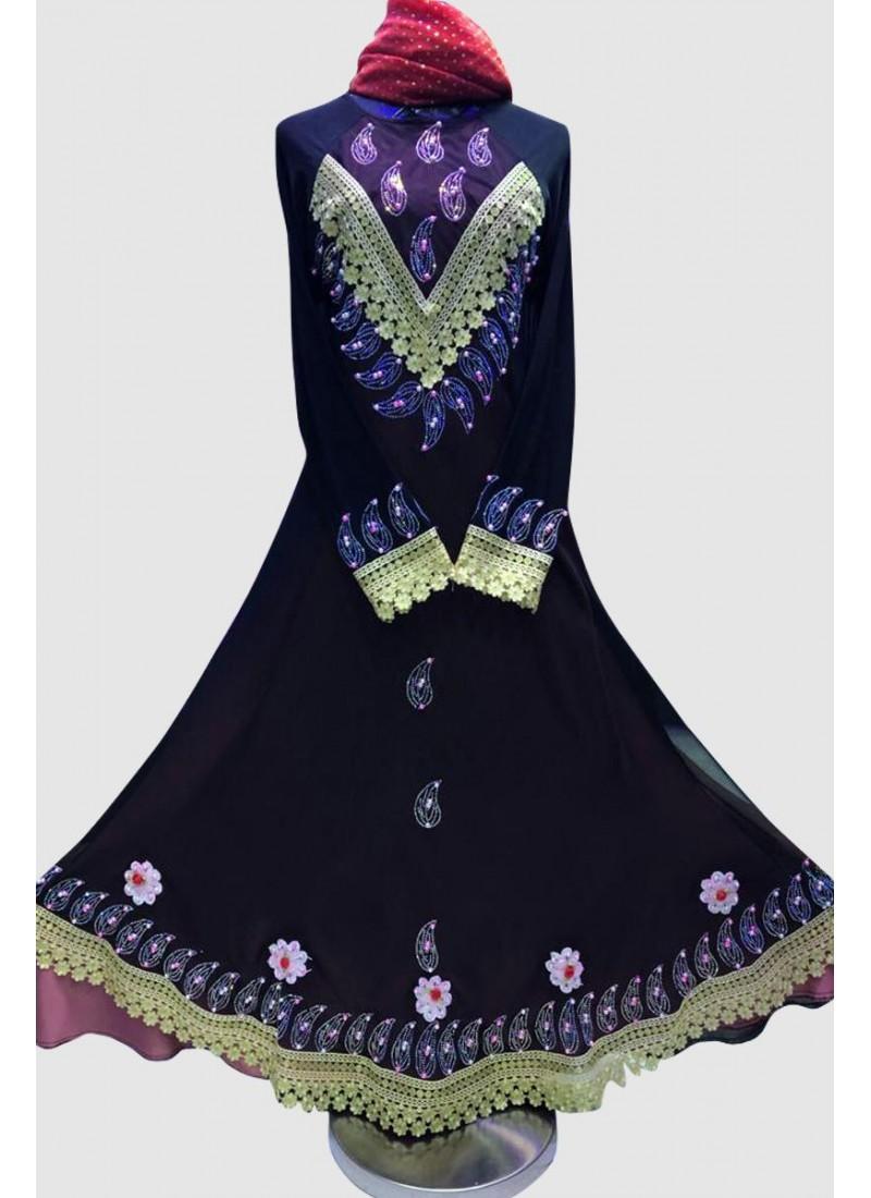 Stylish Gorgeous Umbrella Abaya